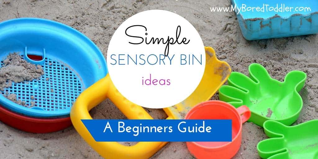 simple sensory bin ideas