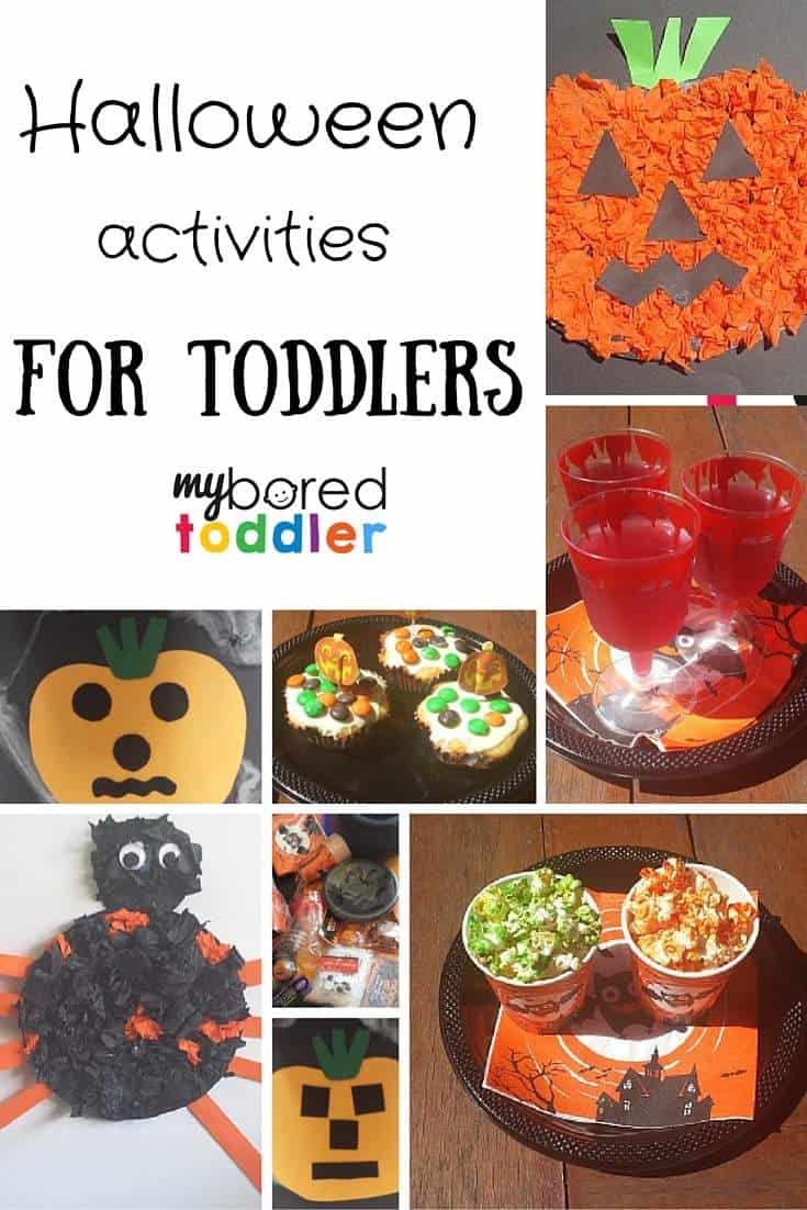 Halloween activities for toddlers pinterest