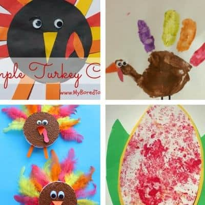 Simple Thanksgiving Crafts For Toddlers