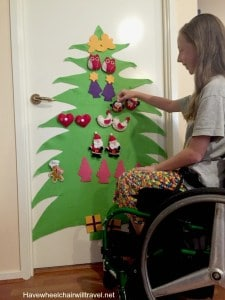 A Christmas tree for children with special needs