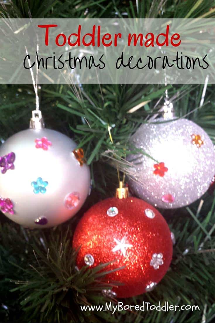 Christmas craft for toddlers decorations my bored toddler for Christmas crafts and gifts
