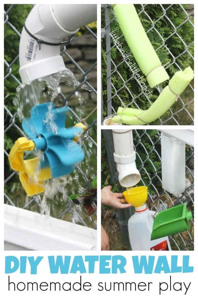 toddler activities summer water wheel