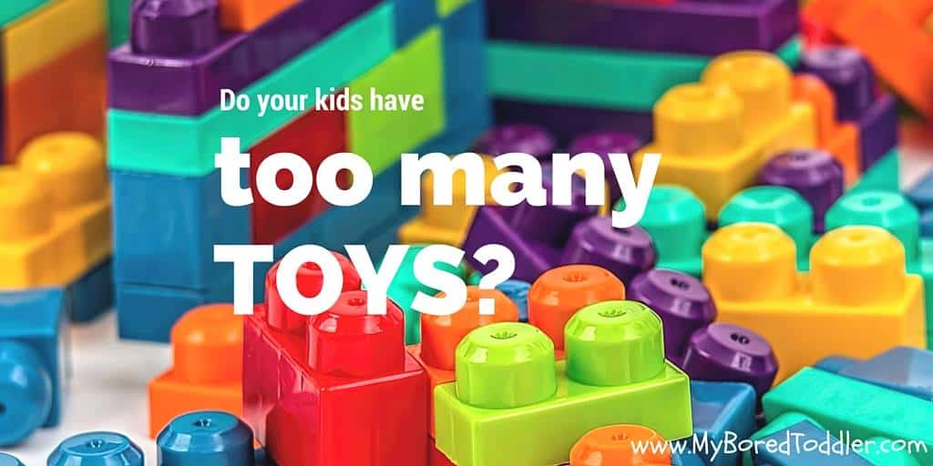 do your kids have too many toys
