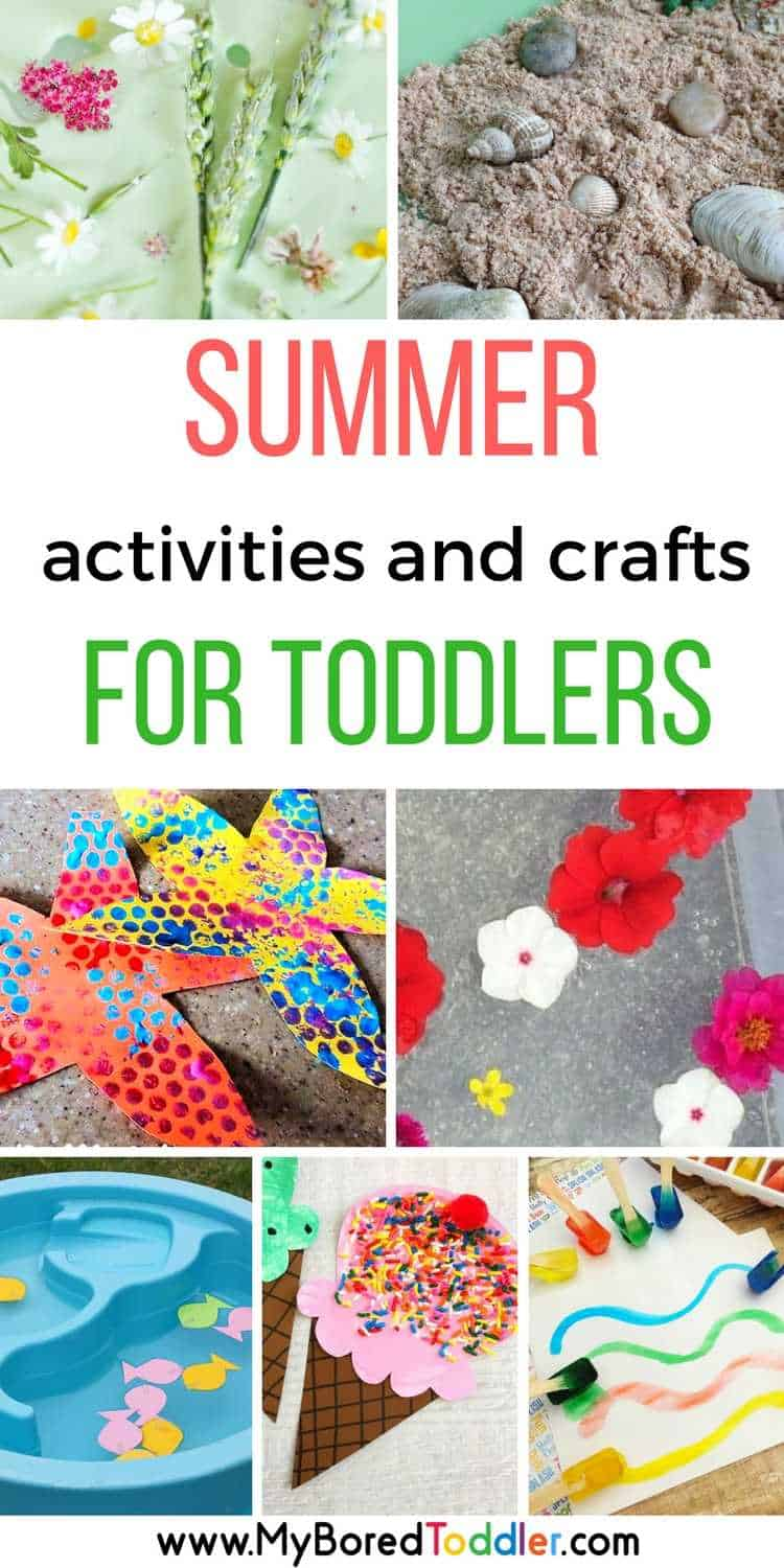 Summer activities for toddlers and summer crafts for toddlers 1 year old 2 year old 3 year old