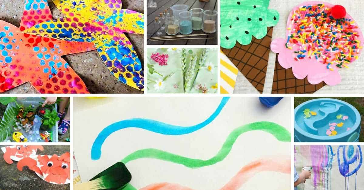 Summer activities for toddlers summer crafts for toddlers