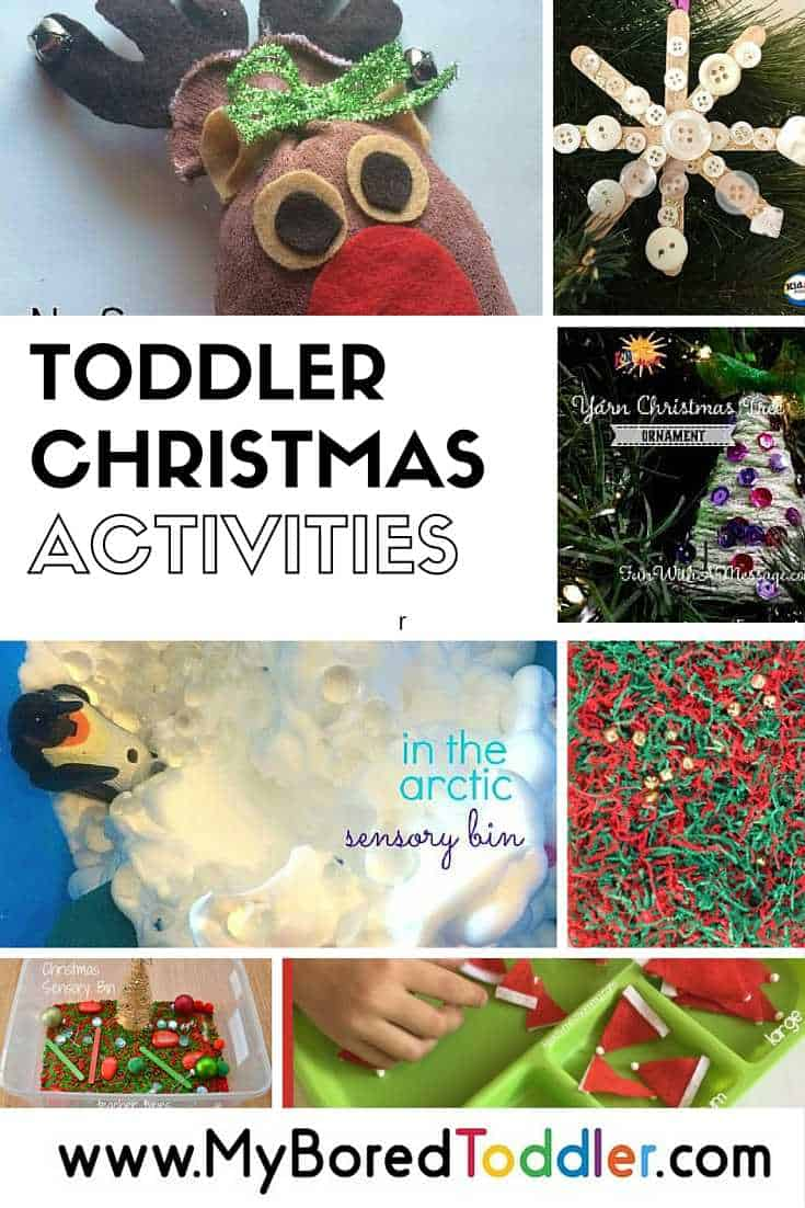 Toddler Christmas Activities My Bored Toddler