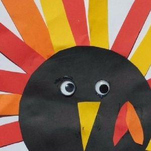 Thanksgiving Craft for Toddlers – Turkey