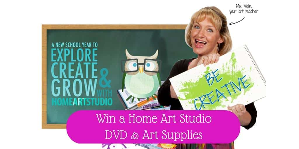 Win an Art Studio DVD & Art Supplies