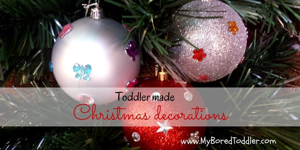 christmas craft for toddlers decorations
