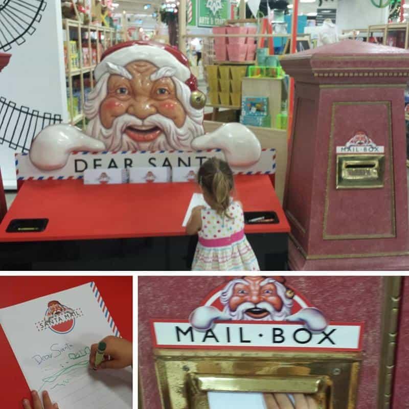 santa mail box