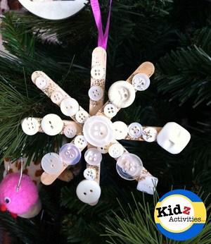 snowflake-christmas-ornament-craft