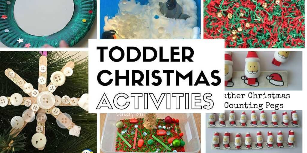 Toddler Christmas Activities