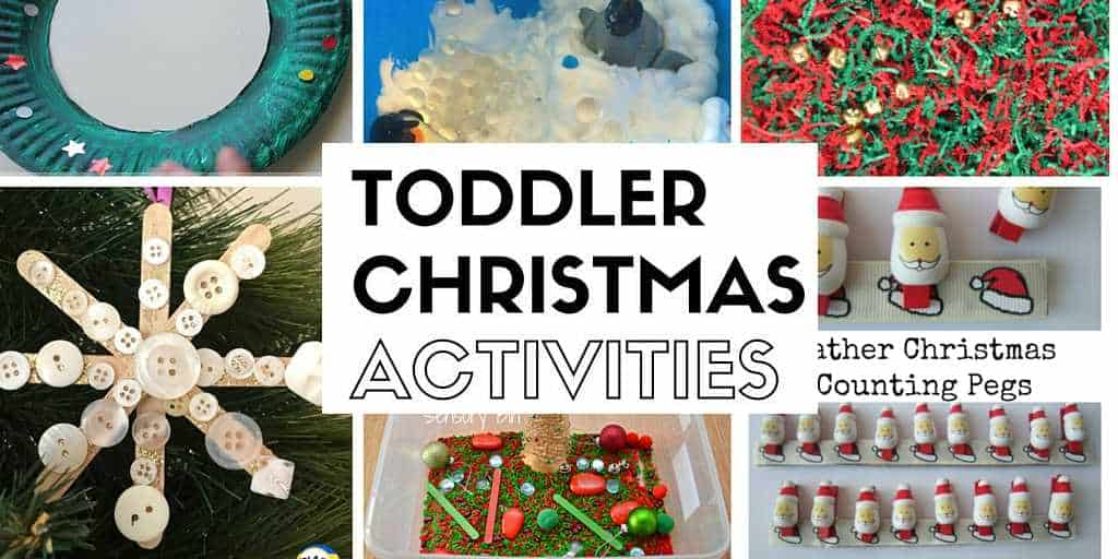 Toddler Christmas Activity Blog Hop