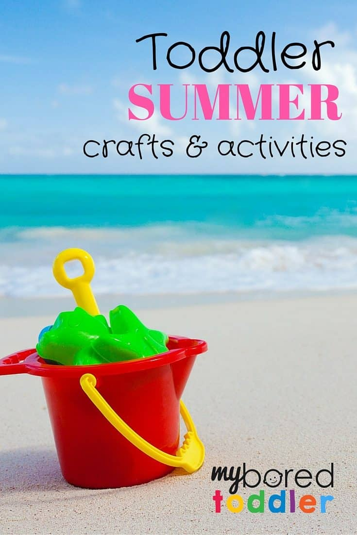 Summer Activities for Toddlers, shared by My Bored Toddler at The Chicken Chick's Clever Chicks Blog Hop