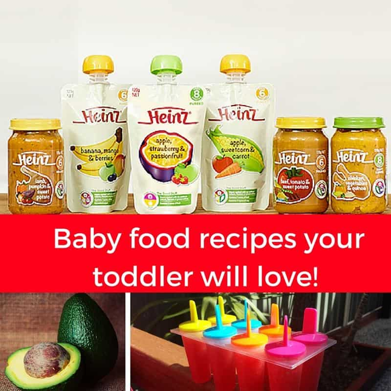 Baby Food Recipes Your Toddler Will Love