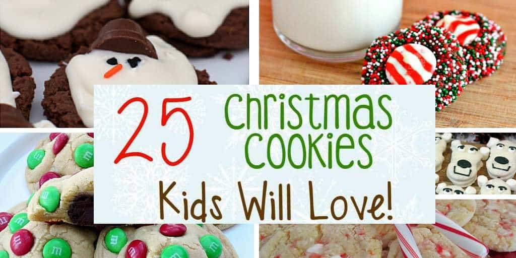 Christmas cookies your kids will love