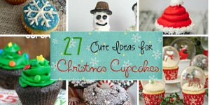 Cute Ideas for Christmas Cup Cakes