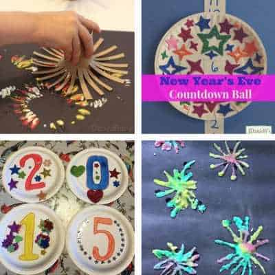 New years eve activities for toddlers fireworks painting countown activity salt firework art