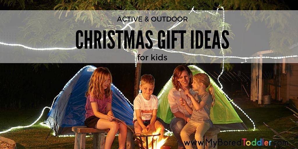 active and outdoor gift ideas for kids