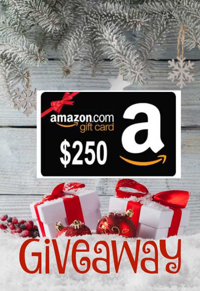 Win a $250 Amazon Gift Voucher
