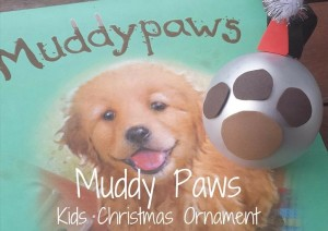 Christmas Ornament – Muddy Paws