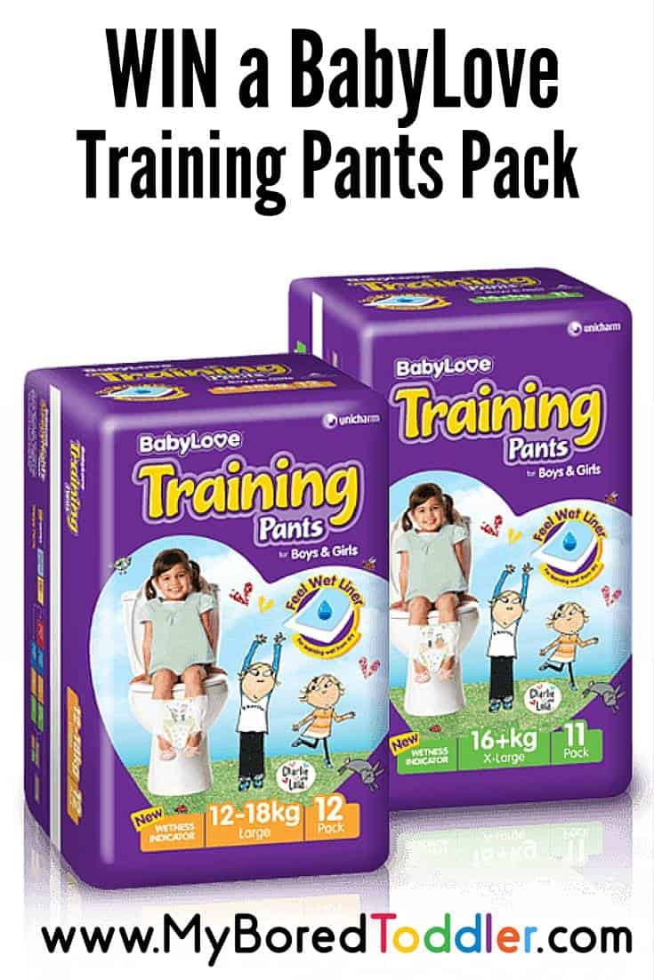 Baby Love Training Pants Review & Giveaway