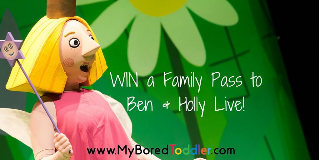 Win Ben & Holly Live Tickets