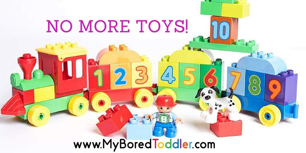 No more toys! How to avoid too many toys as birthday gifts.