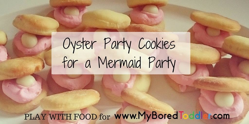 Oyster Party Cookies