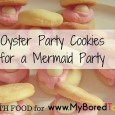 Oyster party cookies feature