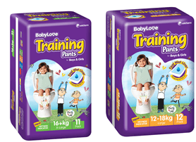babylove training pants