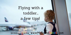 Flying Tips With a Toddler
