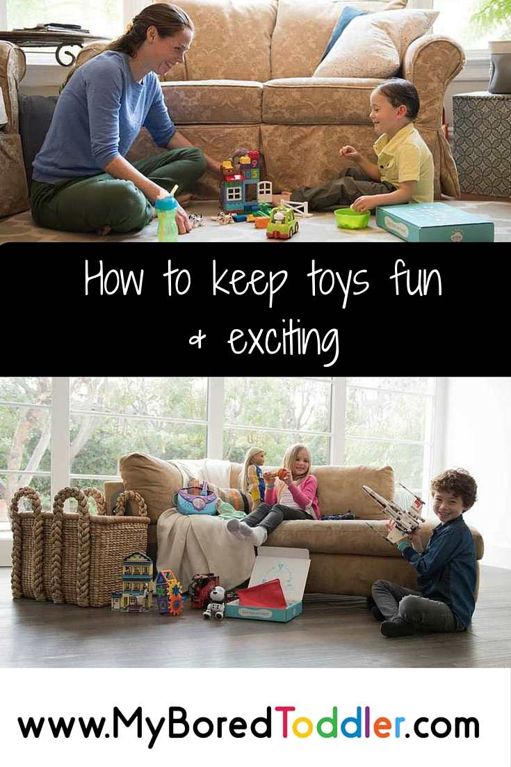 how to keep toys fun & exciting pinterest