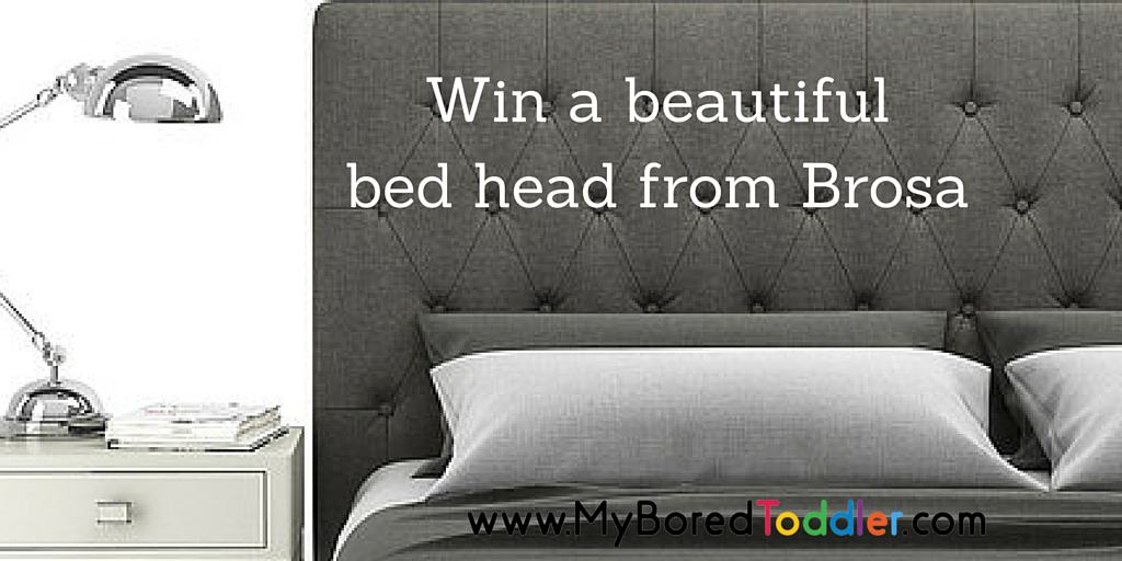 Win a bed head from Brosa