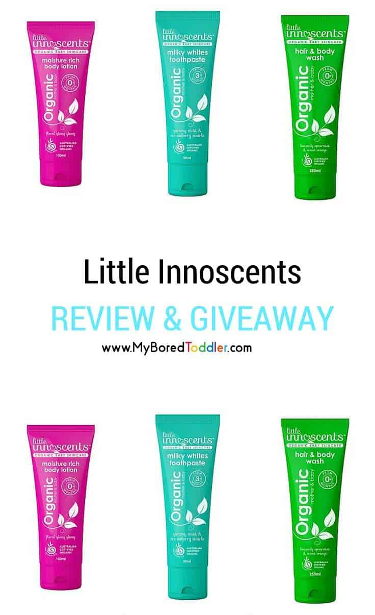 Little Innoscents Review & GIveaway Pinterest