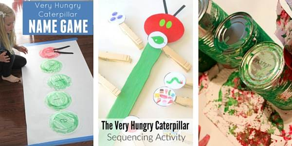 The Very Hungry Caterpillar Activities for Toddlers 2
