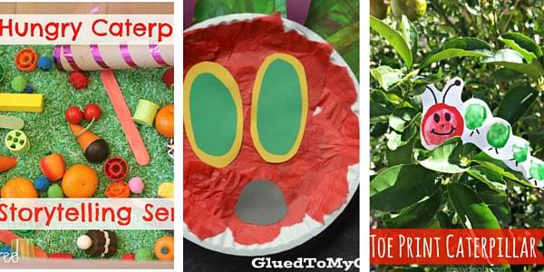 The Very Hungry Caterpillar activities for toddlers 1