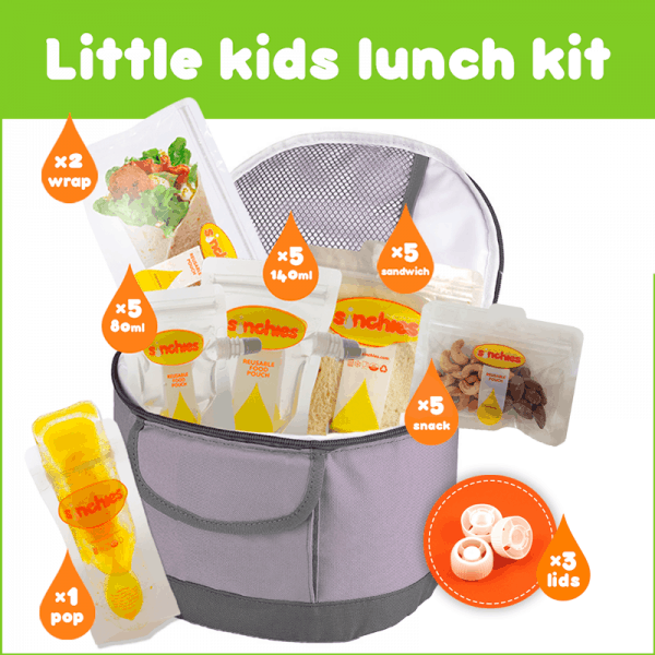 little kids lunch kit