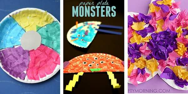 paper plate crafts for toddlers 4