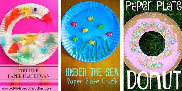 paper plate crafts for toddlers 5