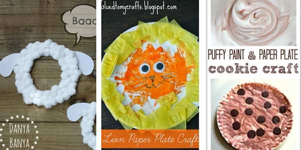paper plate crafts for toddlers 6