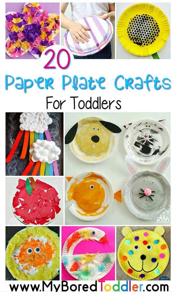 paper plate crafts for toddlers pinterest  sc 1 st  My Bored Toddler & paper plate crafts for toddlers pinterest - My Bored Toddler
