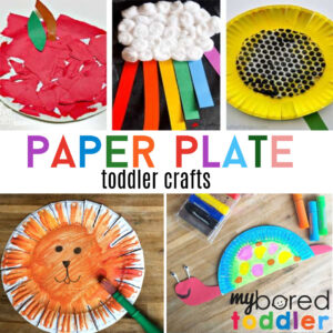 paper plate toddler crafts instagram feature