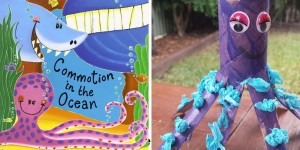 Toddler Craft Activity – Octopus