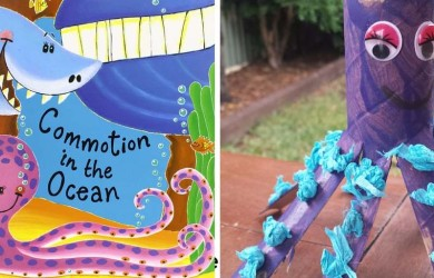 toddler craft activity - octopus feature
