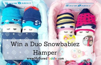 Win a Duo Snowbabiez Hamper feature