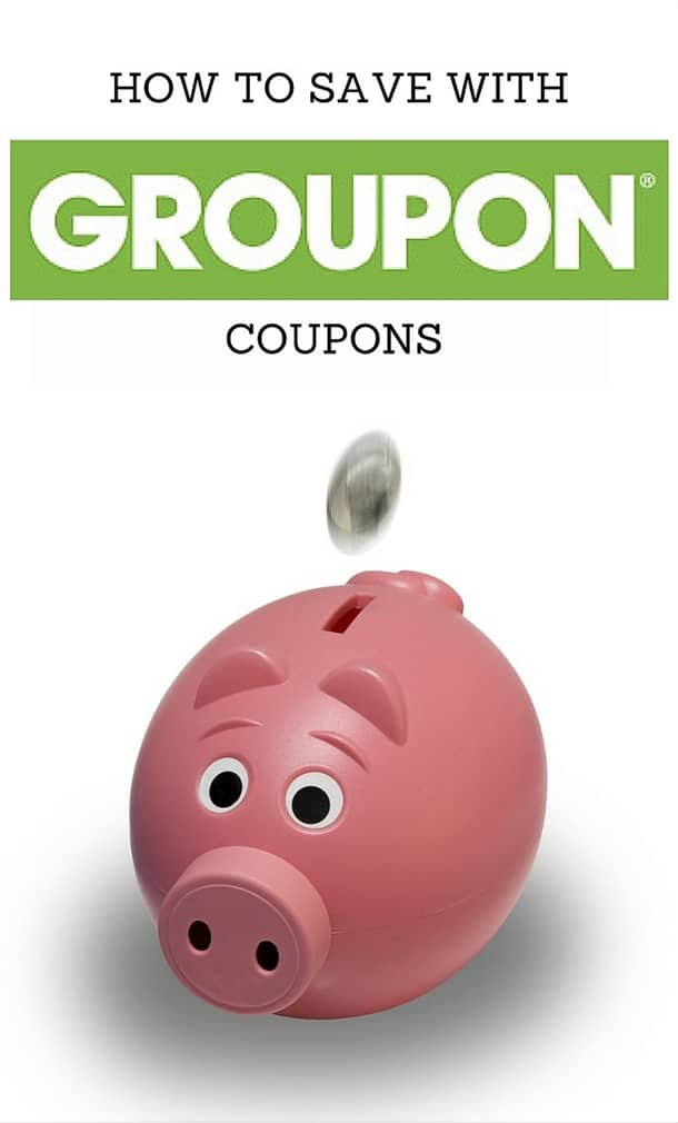 how to save with groupon coupons pinterest