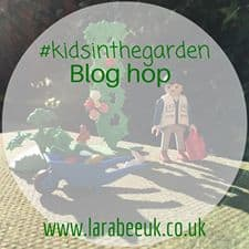 kids in the garden blog hop