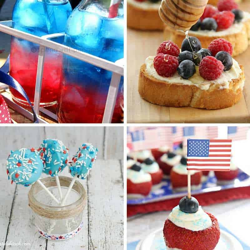 red white and blue sweets and treats 4
