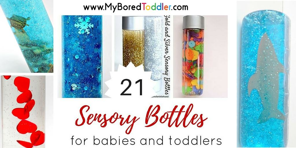 Sensory Bottles for Toddlers